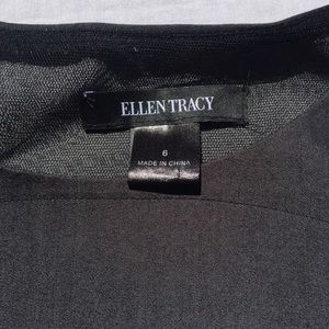 Ellen Tracy Dresses - ELLEN TRACY | charcoal layered sheath dress
